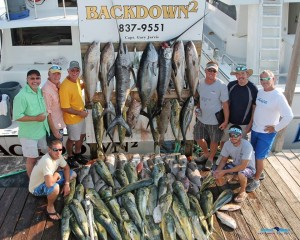 Captain gary jarvis of the back down 2 destin mojo for Destin fl fishing report